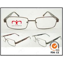 Nuevo marco óptico vendedor caliente del metal del capítulo de Eyewear (WFM501009)