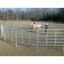 Hot Dipped galvanizado de ferro forjado ovelha vedação painel, cerca de fazenda bovina cerca painel, quente mergulhado galvanizado painel de cerca de aço