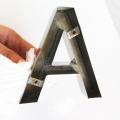 Lettres d'acier inoxydable de découpe laser 3D pour la vente en gros