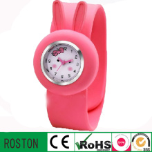 Japan Quartz Movement Kids Silicon Slap Watch