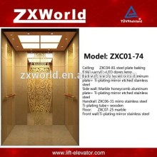 Passenger Elevator - Hotel Series ZXC01-74 Luxurious Design