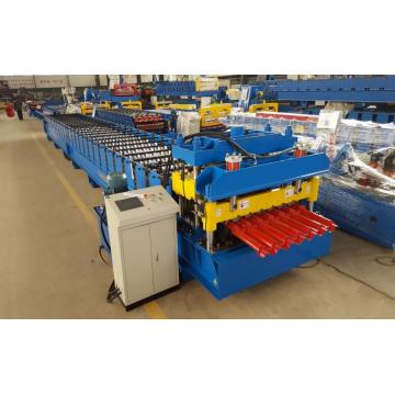 Color Steel Glazed Roofing Forming Machine