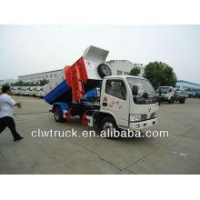 5000L dump refuse vehicle with lifting bin mechanism