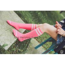 Süßigkeit Farbe Süßes Mädchen Baumwollstrumpf