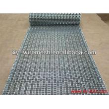 Automática línea de alimentos de acero inoxidable cinta transportadora malla para la venta (fábrica)