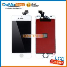 Envío rápido de alta calidad suficiente stock el módulo del lcd, pantalla pequeña del lcd para el iphone 5 monitor de pantalla táctil