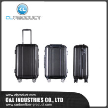 Hot selling 3K Glossy Travel Carbon Fiber Luggage