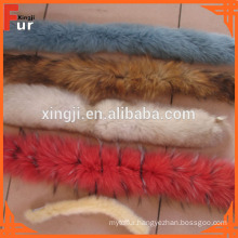 Various Colors Fox Fur Trimming
