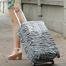 Le bagage de mode imprimé