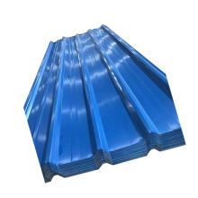 Tôle d'acier ondulée galvanisée de couleur PPGI de construction