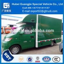 Venta caliente móvil acero inoxidable samll comida rápida carrito / street food vending carrito remolque / camión de diseño para la venta