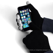 Los mejores guantes del tacto del teléfono móvil del teléfono móvil del diseño del OEM del precio, guantes de la pantalla táctil para el smartphone