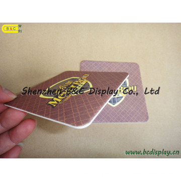 High Quality Absorbent Coaster, Paper Coasters, Promotion Different Design Cup for Gifts Coaster (B&C-G079)