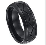 New Tungsten Ring, Tungsten Carbide Ring, Mens Tungsten Carbide Ring