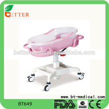 Cama de cuna para bebé infantil de hospital infantil cuna ajustable