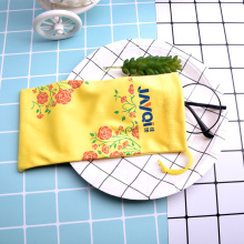 Customized Pattern Printed Ultra Fibre Glasses Pouch