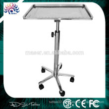 New black Tattoo Stand Table Porta Station Portable Travel Desk Tray TTKS-FR-1501