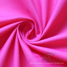 Water & Wind-Resistant Sportswear ao ar livre Down Jacket Tecido Plaid & DOT Jacquard 100% tecido de nylon (N020A)
