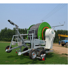 boom and sprinkler hose reel irrigation