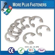 Made in Taiwan Retainer E Clips Schwarz Phosphat Feder Stahl Metric Edelstahl