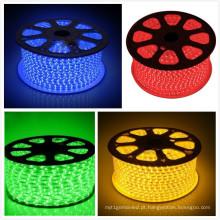 Luz de tira verde / azul / amarela / vermelha de SMD 5050 do diodo emissor de luz para a iluminação do feriado