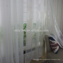 New arrival Polyester sheer voile curtain fabric