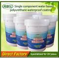 Material impermeable de poliuretano de membrana líquida de PU de un solo componente