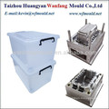 plastic storage box with lid mold design/injection mould design of storage box