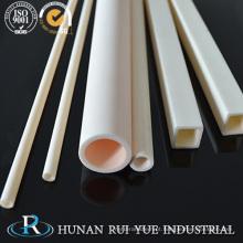 Tubo quadrado cerâmico da zircônia / alumina / tubulação quadrada cerâmica