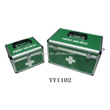 2-in-1 aluminum medical box can save freight cost