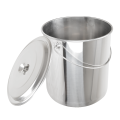 Stainless Steel Straight Water Bucket