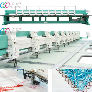 Mixed Coiling & Gewindeschneiden Stickerei Maschine