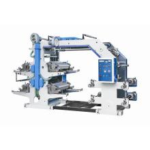 Крафт-бумага с покрытием в рулонной флексографской печатной машине