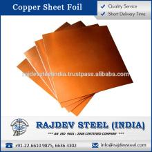 Beste Qualität Kupferfolie mit hoher thermischer Leitfähigkeit zum Verkauf