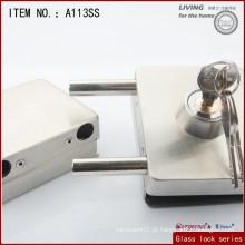 Bloqueio de porta de vidro deslizante quadrado / fechadura de porta de vidro de alta qualidade