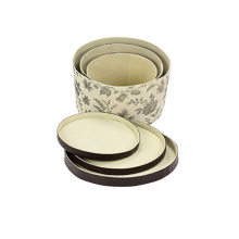 Fancy Design Round Packaging Box for Hat