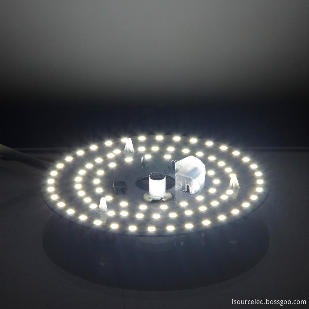Illumination diagram of 220V High lumen 9W white light ceiling lamp module