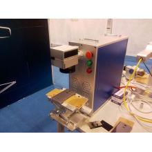 Máquina automática de marcado láser / Sistema de marcado láser de fibra rápida
