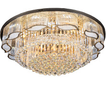 Wholesale Price for China Supplier of Crystal Ceiling Light , Ceiling Lamp, Ceiling Lights gold finish traditional crystal ceiling light export to Indonesia Factories