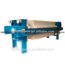 Prensa de filtro de cámara industrial automática de filtro Leo 1000