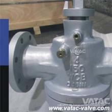 API599 Guss Stahl Wcb / CF8 / CF8m geschmiert Plug Ventil