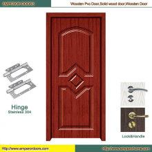 Puerta del PVC de la puerta del PVC de Turquía Puerta del PVC del MDF de la puerta