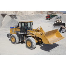 Traktor SEM SEM659C dengan Wheel Loader Front End