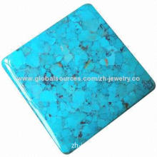 Compressed Turquoise Block Rough Jewelry
