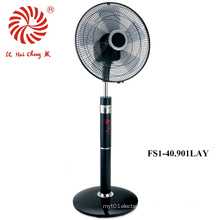 360 Degree Oscillation Stand Fan for Household with LED Display