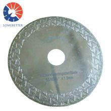 factory supply wholesale laser high cut speed  vitrified brick diamond blade