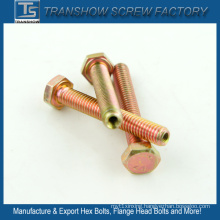 Color Galvanized Hex Bolt Nut