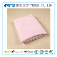 Tissu de preuve de l'eau de tissu de serviette de vente chaude de haute qualité, rose