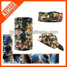 Tubular Marke multifunktionale nahtlose elastische Plain Stirnbänder