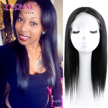 Color 1b Natural Straight Grade 4A 12~24 Inches Brazilian Hair Wig